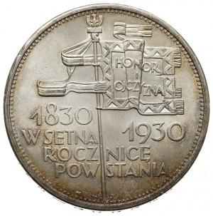 5 złotych 1930, Warszawa, 100 - lecie Powstania Listopa...