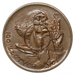 100 złotych 1925, Warszawa, Mikołaj Kopernik, brąz 3.54...