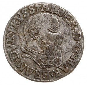 trojak 1542, Królewiec, Iger Pr.42.1.a (R), Bahrf. 1180...
