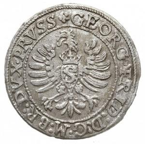 grosz 1597, Królewiec, Bahrf. 1312, Neumann 58, ładny i...
