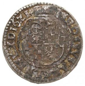 12 krajcarów kiperowe 1621 MT, Chojnów, F.u.S. 1671, pa...