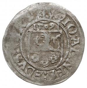 grosz 1509, Nysa, data nad tarczą herbową, Fbg. 456 (77...