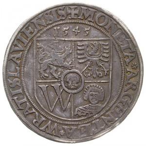 talar 1545, Wrocław, Aw: Tarcza herbowa, nad nią data i...