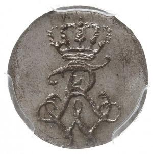 1 gröschel 1808, Kłodzko, Aw: Monogram, Rw: Nominał i d...