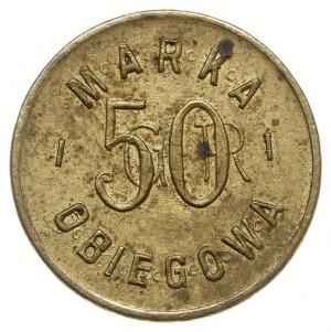 50 groszy Spółdzielni Spożywców 38 Pułku Piechoty Strze...