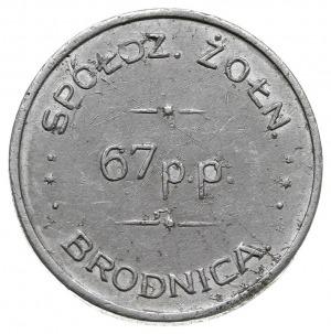 1 złoty Spółdzielni Żołnierskiej 67 Pułku Piechoty, alu...