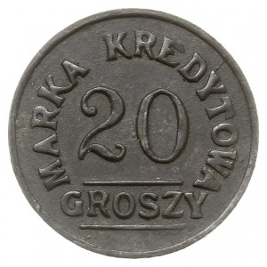 20 groszy Spółdzielni 8 Pułk Ułanów Księcia Józefa Poni...