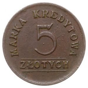 5 złotych Spółdzielni Wojskowej 3 Pułku Artylerii Polow...