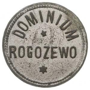 Rogożewo dominium - 10 (groszy ?), Aw: Napis DOMINIUMR...