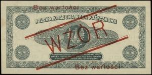 100.000 marek polskich 30.08.1923, nadruk Bez wartości ...