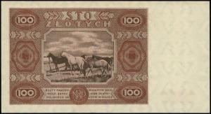 100 złotych 15.07.1947, seria F, numeracja 7233868, Luc...