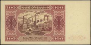 100 złotych 1.07.1948, seria CY 5680394, Lucow 1296 (R2...