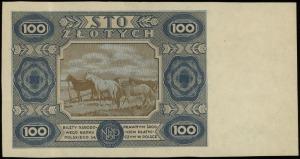 100 złotych 1.07.1948 według projektu emisji z 15.07.19...