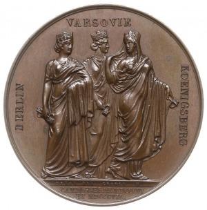Napoleon Bonaparte - medal autorstwa Denon'a i George'a...