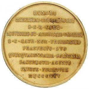 kard. Mieczysław Ledóchowski, prymas Polski - medal pam...