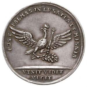 Fryderyk II - medal na zawarcie pokoju w Dreźnie 24.12....