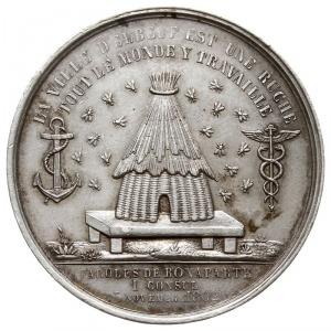 medal nagrodowy Izby Handlowej miasta Elbeuf 1861 r., A...