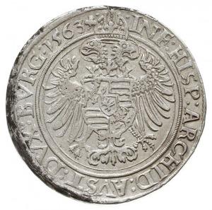 guldentalar (60 krajcarów) 1563, Joachimstal, Dav. 34, ...