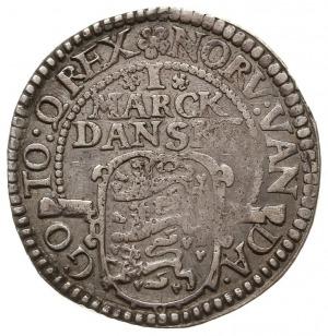 1 marka 1614, Kopenhaga, Hede 99.B, srebro 8.26 g