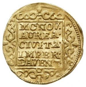 Deventer, dukat 1662, z tytulaturą cesarza Leopolda I, ...