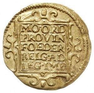 Holandia, dukat 1649, Purmer Ho13, Delm. 774, złoto 3.4...
