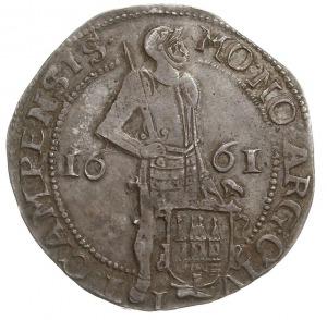 Kampen, talar (zilveren dukaat) 1661, Purmer Ka37, Delm...