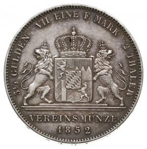 dwutalar 1852, AKS 146, Dav. 601, Thun 91, ładny egzemp...