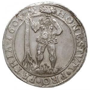 talar 1604, Andreasberg, Welter 645A, Dav. 6285, srebro...