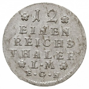 1/12 talara, 1745 EGN, Berlin, Olding 5, v.Schr. 70, ba...