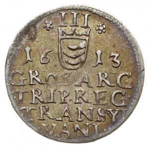 trojak 1613, Resch 204 (odmiana bez kropek przy dacie),...