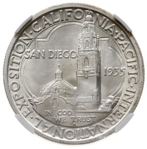 1/2 dolara (50 centów) 1935 S, San Francisco, Californi...