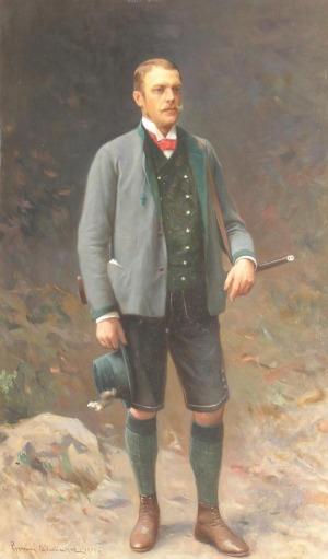 Zygmunt AJDUKIEWICZ, Portret Herr von Ritter