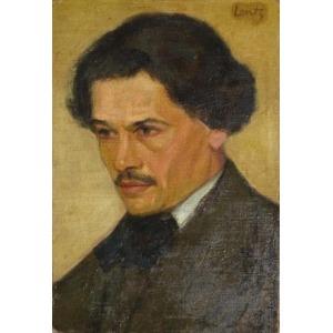 Stanisław LENTZ, Portret mężczyzny