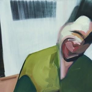 Cezary Bednarczyk, Bez tytułu z cyklu Portret z obrazem w tle, 2018