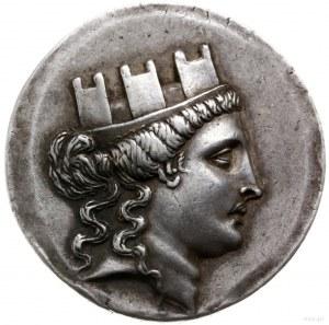 tetradrachma, II w. pne, magistrat Metrodoros; Aw: Głow...