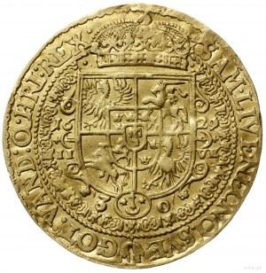 5 dukatów z 1621 r (odbitka w złocie talara lekkiego ko...