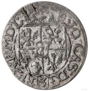 półtorak 1666, Kraków; Aw: Wielopolowa tarcza herbowa, ...
