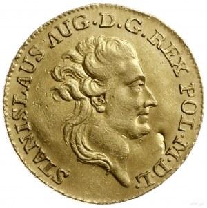 dukat 1784 EB, Warszawa; Aw: Głowa króla zwrócona w pra...