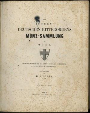 D. B. Dudik, Des Hohen Deutschen Ritterordens Münz-Samm...
