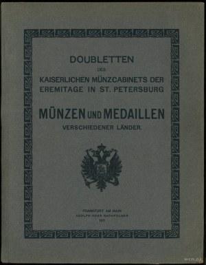 Adolph Hess, Doubletten des Kaiserlichen Münzcabinets d...