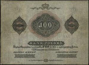 100 złotych 1830, litera C, seria 34, numeracja 864553,...