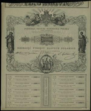Powstanie Styczniowe 1863-1864, Rząd Narodowy, Pożyczka...