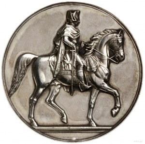 Niemcy, medal z okazji odsłonięcia pomnika konnego Fryd...