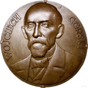 plakieta jednostronna - Wojciech Górski (1849-1935); Po...