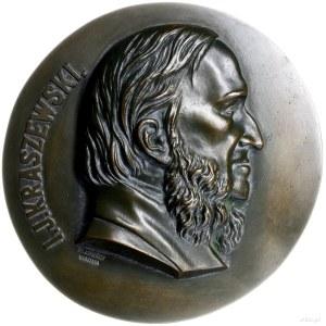 plakieta - Józef Ignacy Kraszewski; Popiersie Józefa Ig...