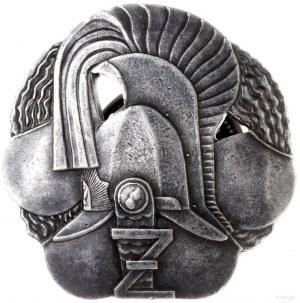 pamiątkowa odznaka Żandarmerii Polowej, Kask żandarmów ...