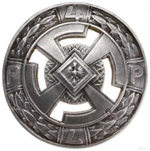 oficerska odznaka pamiątkowa 4. Pułku Piechoty Legionów...