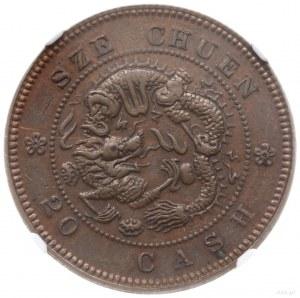 "20 cash, bez daty (1903-1905); Aw: Inskrypcja ""Kuang-hs..."