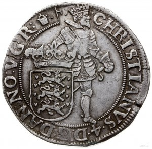 talar (speciedaler) 1623, mennica Glückstadt; Aw: Król ...