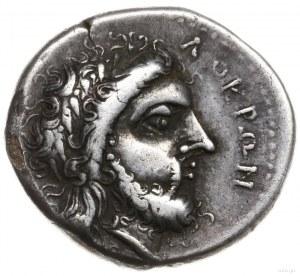 stater, 400-350 pne; Aw: Głowa Zeusa w wieńcu laurowym ...